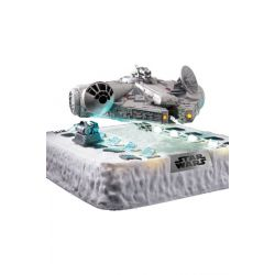 Star Wars diorama lumineux Egg Attack Millennium Falcon Floating Ver. (Episode V) 14 cm