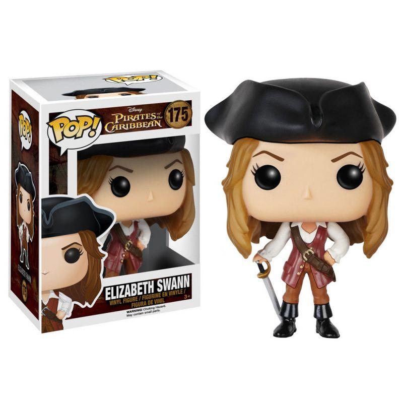 Figurine Pirates Des Cara 239 Bes Pop Vinyl Elizabeth Swann 9