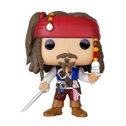 Figurine Pirates des Caraïbes POP! Vinyl Captain Jack Sparrow 9 cm