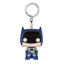 porte-clés Pocket POP DC Comics ! Vinyl 75th Anniversary Batman Blue 4 cm