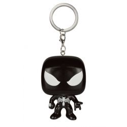 Figurine Marvel Comics porte-clés Pocket POP! Vinyl Black Suit Spider-Man Limited 4 cm
