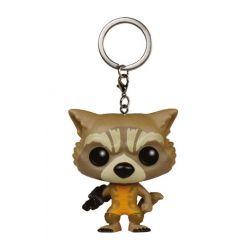 Figurine Les Gardiens de la Galaxie porte-clés Pocket POP! Vinyl Rocket Raccoon 4 cm
