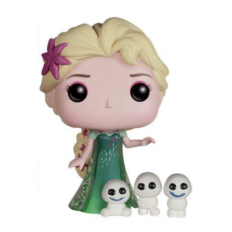 Figurine La Reine des neiges Une fête givrée POP! Disney Vinyl Elsa 10 cm