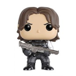 Figurine Captain America Civil War POP! Vinyl Bobble Head Winter Soldier 10 cm