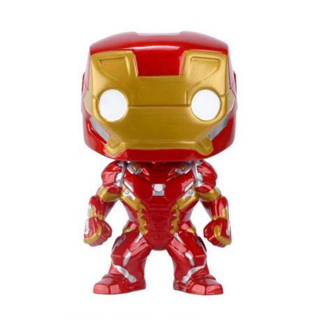 Figurine Captain America Civil War POP! Vinyl Bobble Head Iron Man 10 cm