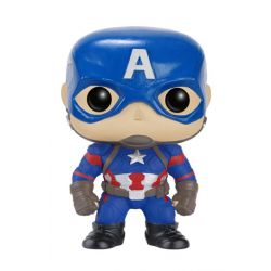 Figurine Captain America Civil War POP! Vinyl Bobble Head Captain America 10 cm