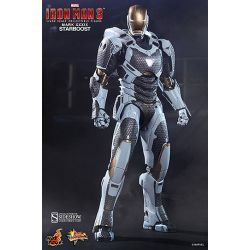 Figurine Iron Man 3 Movie Masterpiece 1/6 Iron Man Mark XXXIX Starboost 30 cm