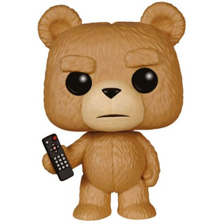 Figurine Ted 2 POP! Movies Vinyl Ted with Remote 9 cm