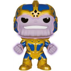 Figurine Les Gardiens de la Galaxie POP! Vinyl Bobble Head Thanos Glow in the Dark 14 cm