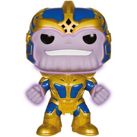 Figurine Les Gardiens de la Galaxie POP! Vinyl Bobble Head Thanos Glow in the Dark 14 cm