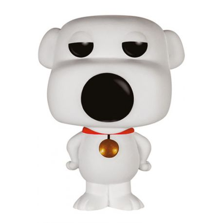 Figurine Family Guy Figurine Pop Television Vinyl Brian 9