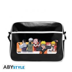 "Sac Besace NARUTO SHIPPUDEN ""Groupe gentils"" - Vinyle"