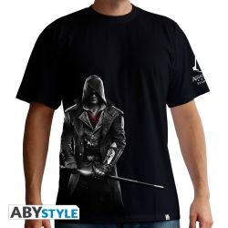 "Tshirt ""Jacob"" ASSASSIN'S CREED homme MC black - basic"