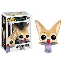 Figurine Zootopie POP! Disney Vinyl Ele-Finnick 7 cm