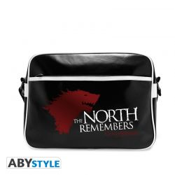 "Sac Besace GAME OF THRONES ""The North Remembers"" - Vinyle"