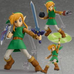 Figurine FIGMA - Link: A Link Between Worlds DX Ed. (The Legend of Zelda) !