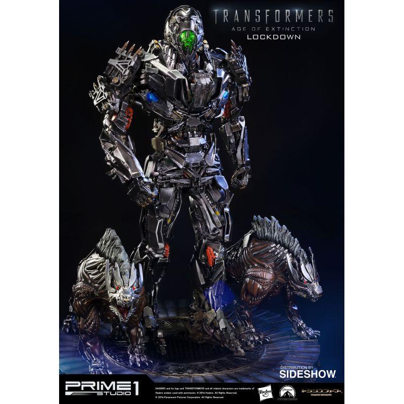Figurine Transformers 4 Construct Bots Riders Lockdown Hasbro : King Jouet,