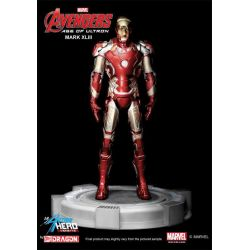 Figurine PVC Avengers L'Ère d'Ultron Action Hero Vignette 1/9 Mark XLIII Special Edition 20 cm