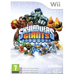 Jeu Skylanders giants + socle [Wii]