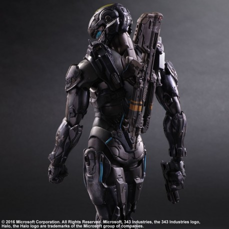 Figurine Halo 5 Guardians Play Arts KAI - Spartan Locke