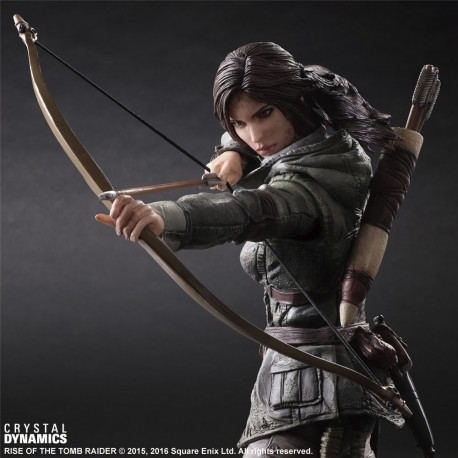 Figurine Rise of the Tomb Raider PLAY ARTS KAI Lara Croft