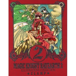 Magic Knight Rayearth - Illustration Collection 2 - Clamp Artbook