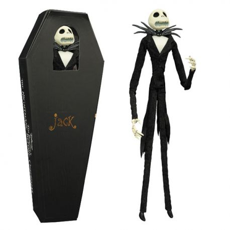 Figurine NIGHTMARE BEFORE CHRISTMAS Jack Unlimited Coffin Ver !