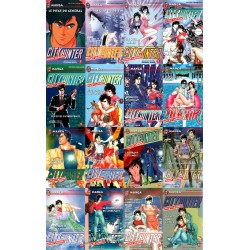 Lot de 16 Mangas City Hunter