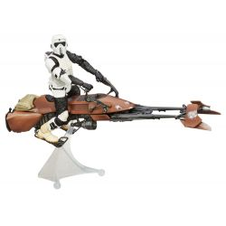 Figurine STAR WARS Speeder Bike + Biker Scout