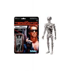 Terminator ReAction figurine Chrome T-800 Endoskeleton 10 cm