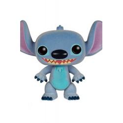 Lilo & Stitch POP! Disney Vinyl figurine Stitch Flocked 9 cm