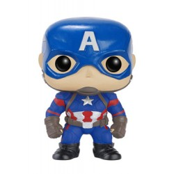 Captain America Civil War POP! Vinyl Bobble Head Captain America 10 cm