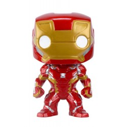 Captain America Civil War POP! Vinyl Bobble Head Iron Man 10 cm