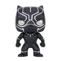 Captain America Civil War POP! Vinyl Bobble Head Black Panther 10 cm