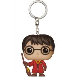Harry Potter porte-clés Pocket POP! Vinyl Harry Potter Quidditch 4 cm