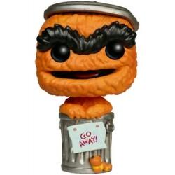 1 rue Sésame Figurine POP! TV Vinyl Oscar Orange Limited Edition 9 cm
