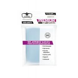 Ultimate Guard 100 pochettes Premium Soft Sleeves format japonais Transparent