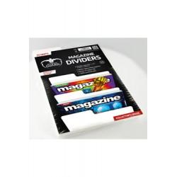 Ultimate Guard 25 intercalaires pour Comics format magazine Blanc