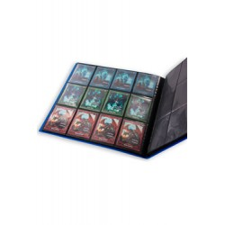 Ultimate Guard 12-Pocket QuadRow FlexXfolio Bleu