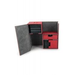 Ultimate Guard boîte pour cartes Twin Flip´n´Tray Deck Case 160+ taille standard XenoSkin Rouge