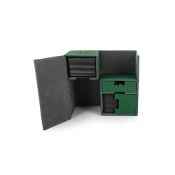 Ultimate Guard boîte pour cartes Twin Flip´n´Tray Deck Case 160+ taille standard XenoSkin Vert