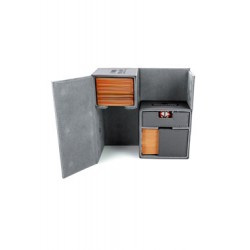 Ultimate Guard boîte pour cartes Twin Flip´n´Tray Deck Case 160+ taille standard XenoSkin Gris