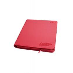 Ultimate Guard 12-Pocket QuadRow ZipFolio XenoSkin Rouge