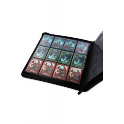 Ultimate Guard 12-Pocket QuadRow ZipFolio XenoSkin Noir