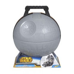 Star Wars Hot Wheels malette Death Star 30 cm