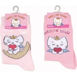 angel cat sugar - chaussette fille lot de 2 paires