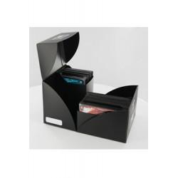 Ultimate Guard boîte pour cartes Twin Deck Case 160+ taille standard Noir