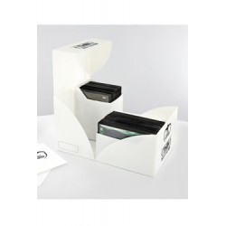 Ultimate Guard boîte pour cartes Twin Deck Case 160+ taille standard Blanc