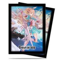 Protège cartes Force Of Will TCG Normal Sleeves Standard Size Alice, Valkyrie Of Fairy Tales