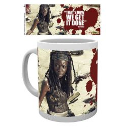 Mug walking dead Michonne